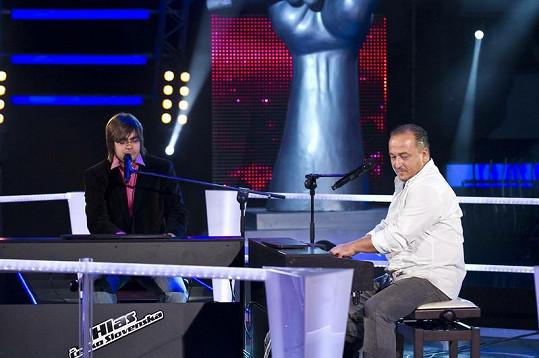 Brunno Oravec a Arpád Csete museli zpívat hned několikrát.