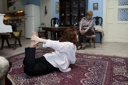 Libuše Šafránková si v Gymplu vyzkouší mnoho netradičních scén.