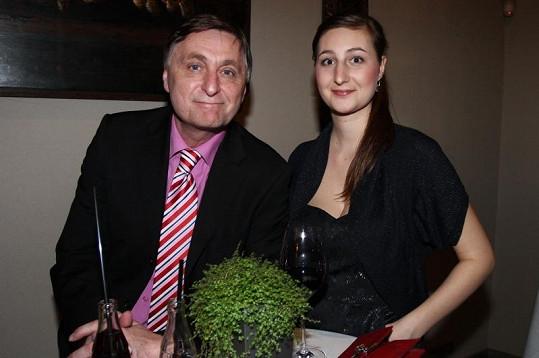 Václav Tittelbach na Týtý ukázal svou dceru