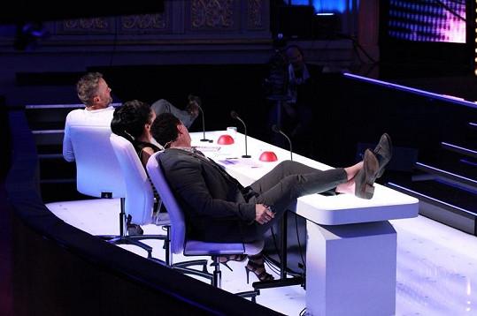 Takto relaxují porotci Talentu.