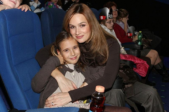 Klára s dcerou Natálkou.