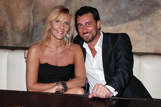 Domenico Martucci s novou přítelkyní.