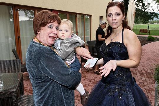 Dcera Míšy Noskové Eliška nechtěla od Miriam Kantorkové zpátky k mamince.