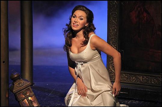 Kamila Nývltová v roli Lorraine