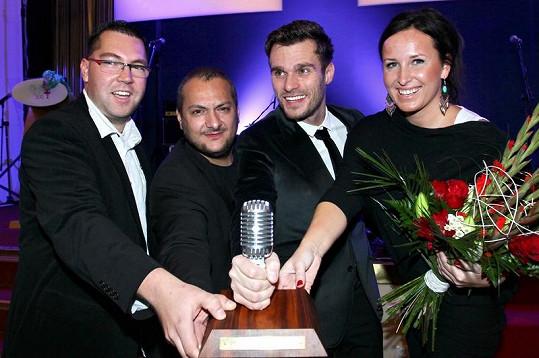 Patrik Hezucký, Leoš Mareš a Lucie Šilhánová z ranní show Evropy 2 dostali od diváků nejvíc hlasů.