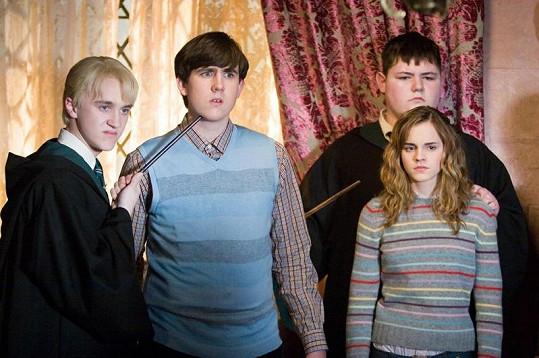 Waylett jako Vincent Crabbe ve filmech o Harry Potterovi.