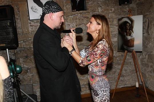 Fotografovi Jakubovi Ludvíkovi zazpívala i Yvetta Blanarovičová.
