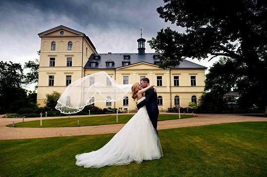 Tereza Juščíková s novomanželem Tomášem Jandou
