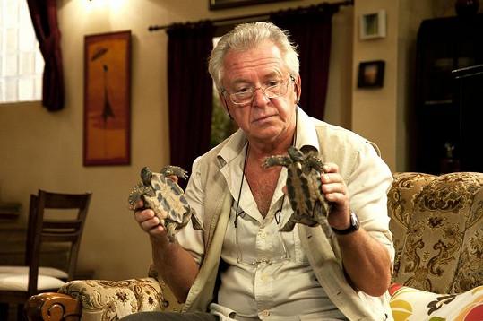 Želvy v rukou Jaromíra Hanzlíka jsou prý původní Poldinky.
