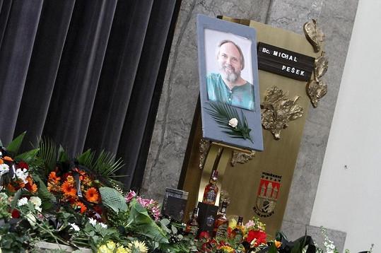 Michal Pešek zemřel minulou neděli na rakovinu plic.