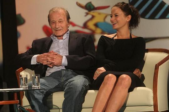 Jitka Čvančarová a Radoslav Brzobohatý.
