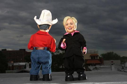 Hillary a George.