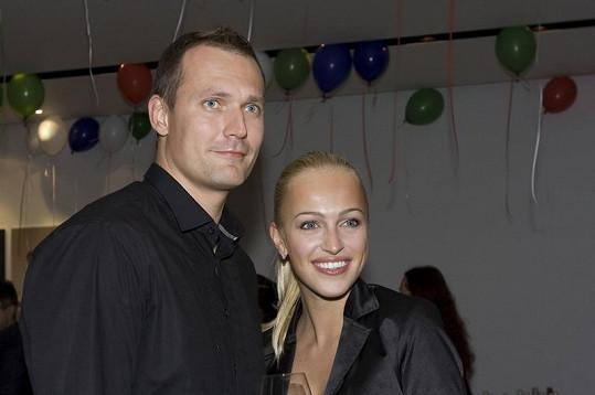 Renata Langmannová a Ondřej Novotný spolu žijí tři roky.
