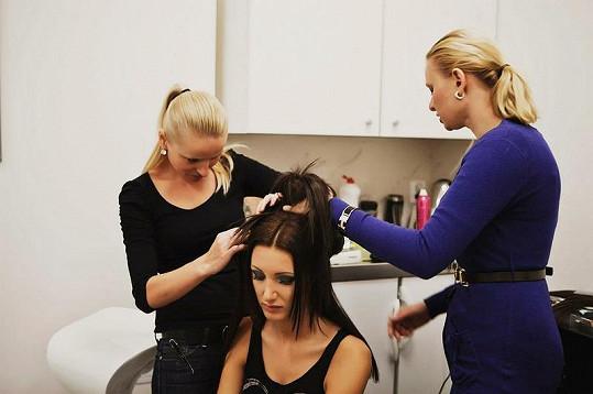 Modelčiny vlasy prošly řadou proměn.
