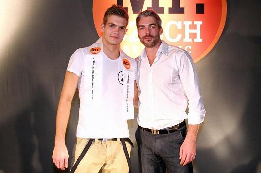 Milan Nevosad s Josefem Karasem, který před dvěma roky skončil na světové soutěži druhý.