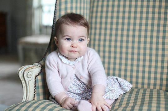 Charlotte (dcera vévodkyně Kate a prince Williama)