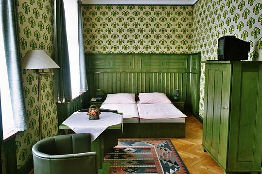 Manželský pár z britské královské rodiny by v Náchodě mohl využít jedné ze dvou ložnic prezidentského apartmá.