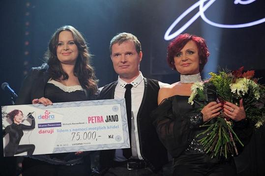 Čvančarová převzala dar pro charitativní sdružení, jehož je patronkou.