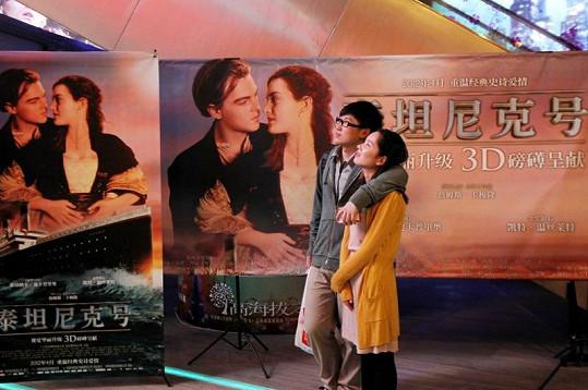 Čínští diváci se musí spokojit s 3D verzí Titanicu v cenzurované variantě.