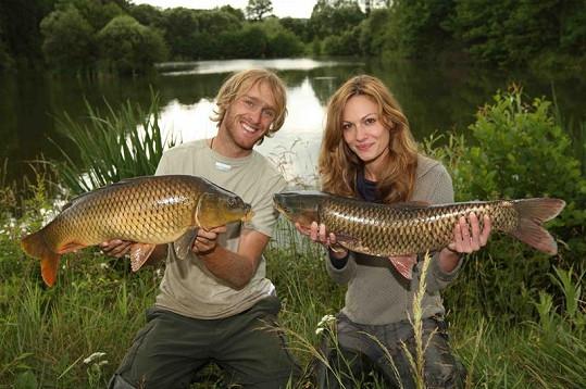 Díky Jakubovi objevila Jana znovu lásku k rybaření.