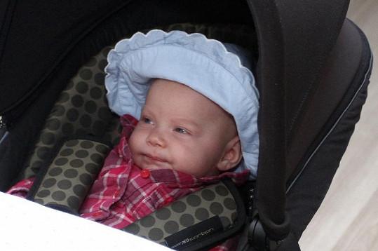 Elenka je rozkošné miminko.