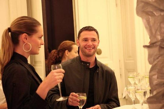 Modelka Karolína Bosáková s přítelem Tomášem Fílou.