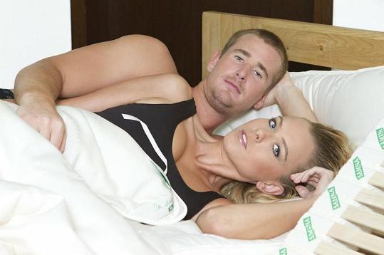 Takhle tráví Veronika Machová a Roman Červenka svůj volný čas.