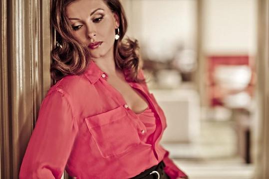 Dana Morávková by mohla z fleku dělat modelku