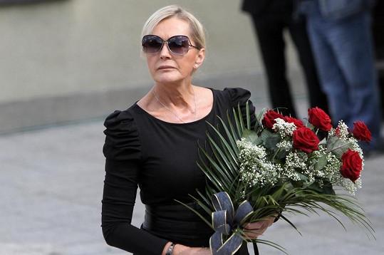 Helena Vondráčková byla ze smrti kamaráda zdrcená.