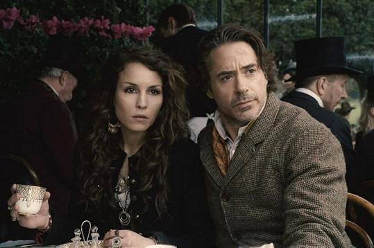 Robert Downey Jr. jako Sherlock Holmes.