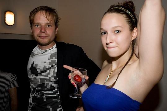 Kryštof Hádek se svou novou přítelkyní Berenikou Kohoutovou.