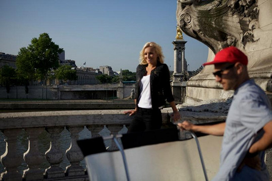 Táňa fotila přímo v centru Paříže.