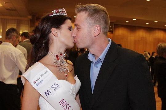 Ivana Hnilicová s přítelem Tomášem chodí půl roku.