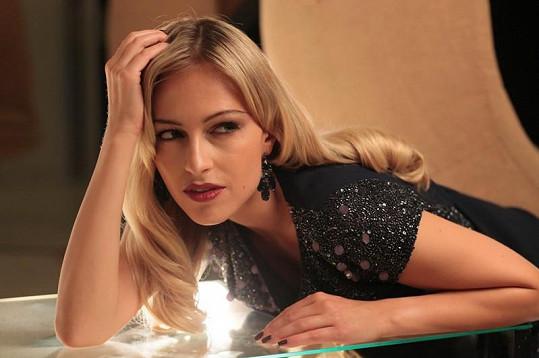Langmannová je jednou z nejkrásnějších českých modelek.