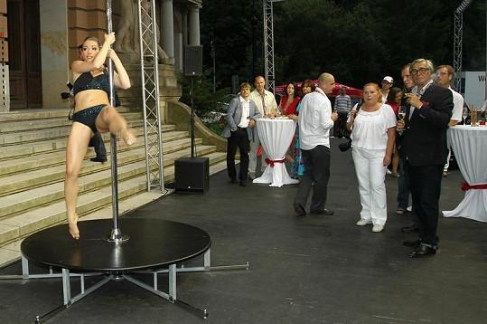 Takové vystoupení Jiří Bartoška opravdu nečekal.