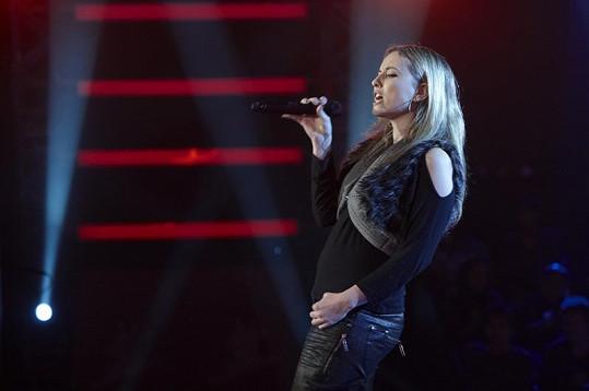 Magdaléna Wronková v roce 2012 v soutěži Hlas Česko Slovenska