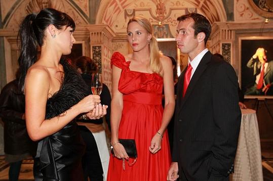 Manželé v hovoru s Janou Doleželovou.
