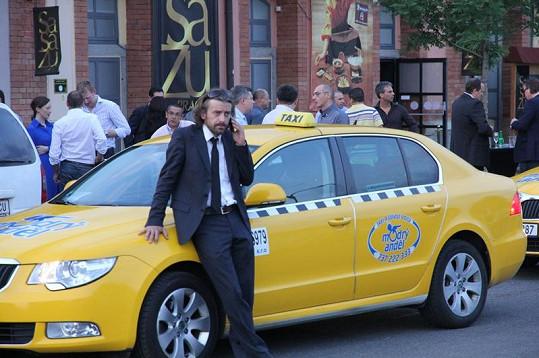 Petr Polák je velmi elegantní řidič.