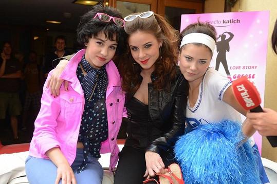 Michaela Doubravová, Nela Pocisková a Ivana Benešová si zahrají hlavní dívčí party.