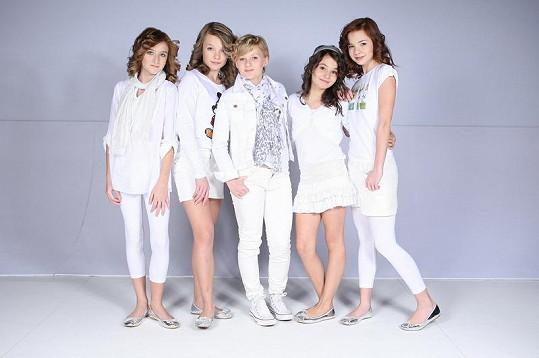Dívčí skupina je nejúspěšnější v republice.
