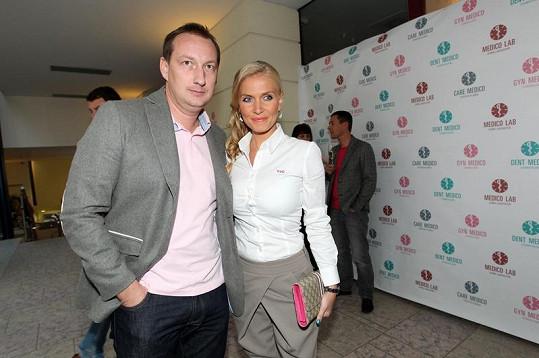 Michaela Ochotská s přítelem Michalem Exnerem plánují společné bydlení.