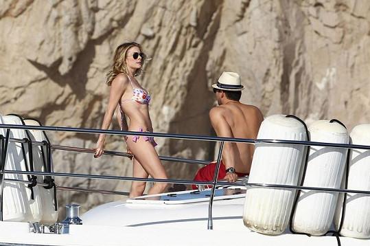 LeAnn Rimes a Eddie Cibrian trávili na jachtě romantické chvilky.