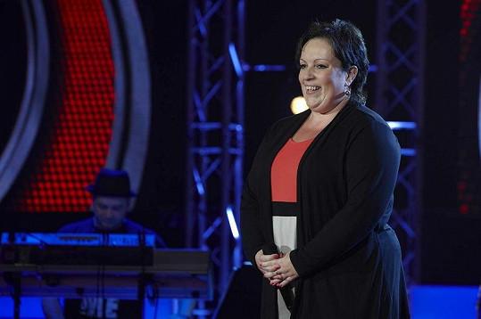 Renata Podlipská je asi nejrozměrnější ze soutěžících.