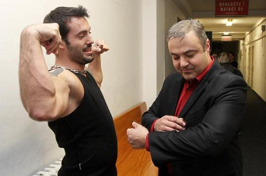 Martin Zounar sleduje neuvěřitelné svaly Noida.