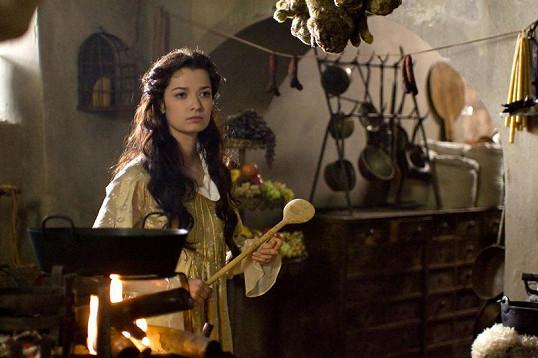 V pohádce Micimutr hrála princeznu.