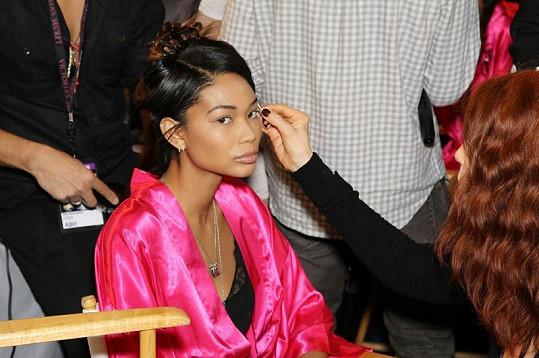 Krásná Chanel Iman nemohla chybět.