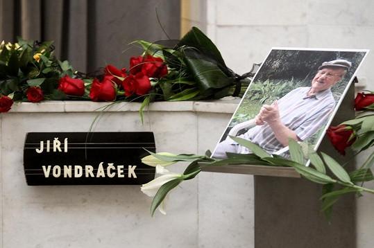 Pohřeb Jiřího Vondráčka
