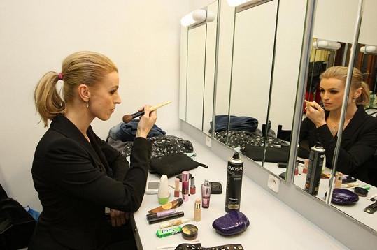 Ivana Jirešová si přivezla nejvíc kosmetiky.