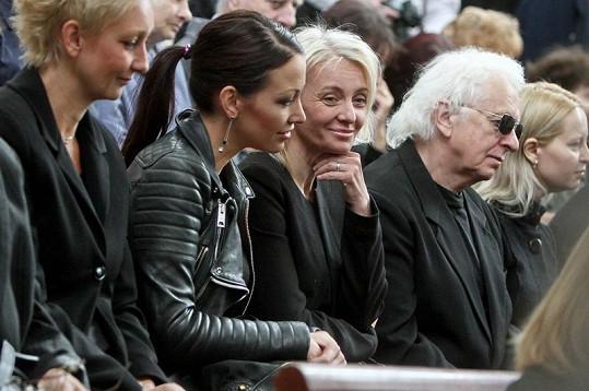 Veronika Žilková s dcerou Agátou měly Peška velmi rády.