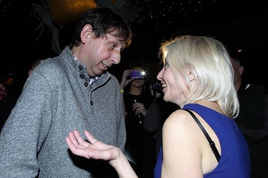 Veronika má stále pěkný vztah s exmanželem Jiřím Hanychem.